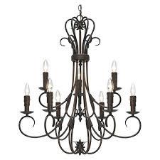 9 light chandelier portfolio 9 light texas star oil rubbed bronze chandelier
