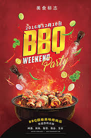Bbq Poster Bbq Grill Poster Background Bbq Barbecue Meat Background Image