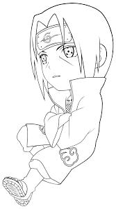 Uchiha Itachi Naruto Coloring Pages Pinterest Sasuke Free Colouring