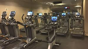 fitness center at mand bay hotel and