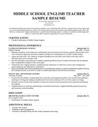 Resume Template Excellent Sample Teacher Biology Teachers Resumes