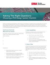 Design System Checklist Asking The Right Questions Choosing A Pcb Design System