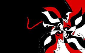 Black Red White Wallpaper