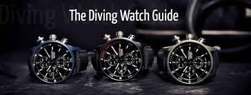 the diving watch guide gentleman s gazette
