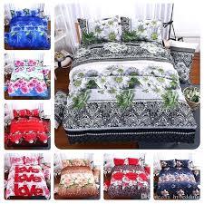 rose duvet cover flower bedding set blue rose duvet cover bed sheet pillowcases single queen king size satin bedding cool duvet covers from hy rose gold