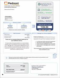 Piedmont Healthcare Bill Pay Online Overview Piedmont