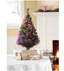 Small Fake Christmas Trees Target  Home Decorating Interior Small Fiber Optic Christmas Tree Target