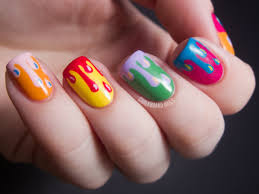 DIY Nail Ideas: Paint Drip Nail Art And More Of Our Manicures From ...