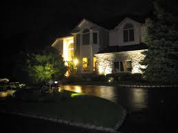 best led landscape lights front of house