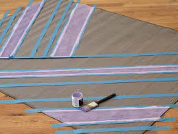 how to paint stripes on an outdoor rug start painting stripes
