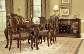 Old World Leg Dining Table ART Furniture The Furniture - Shield back dining room chairs