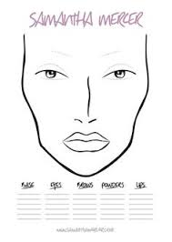 22 Best Face Charts Images In 2018 Makeup Face Charts