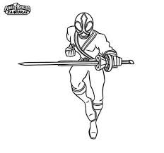 Power Rangers Samurai Coloring Pages 11355