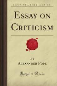 essay on criticism forgotten books alexander white pope  essay on criticism forgotten books