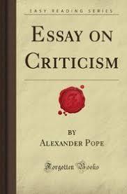 essay on criticism forgotten books alexander white pope essay on criticism forgotten books