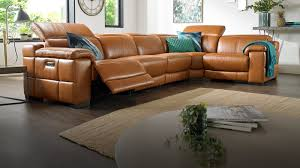 corner sofas in leather fabric sofology in stylish leather corner sofa for residence