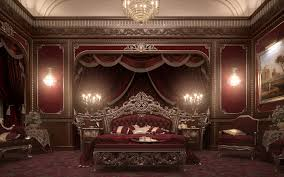 Red And Gold Bedroom European Style Luxury Carved Bedroom Settop And Best Italian