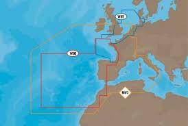 C Map Max West European Coasts
