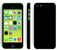 Apple iPhone 5c Black Matte Skin ...