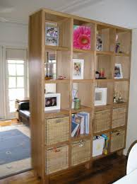 room divider with shelves  cool ideas for bookcase room