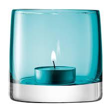 <b>Подсвечник</b> для чайной свечи Light Colour, 8.5 см, бирюзовый ...