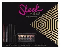 new gift xmas offer sleek makeup sleek surprises gift smoke mirrors for her gift set new arrival gift box black friday xmas kit beauty sleek