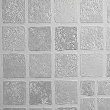 bathroom tiles wallpaper. Interesting Tiles Graham U0026 Brown Contour Earthen Tile Effect Decorative Wallpaper Grey  10m Inside Bathroom Tiles O