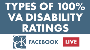 Types Of 100 Va Disability Ratings
