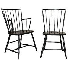 black windsor chairs. Black Windsor Chairs For Pair Of Lacquer And Faux Bamboo By Nichols Idea 9 E