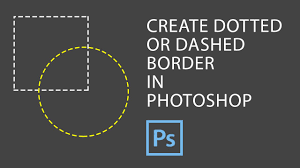 Photoshop cs5 top 5 new features (plus bonus). Photoshop How To Create Dotted Border In Photoshop Youtube