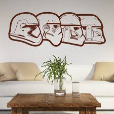 Art Design Stormtrooper evolution <b>wall sticker</b> home decoration ...