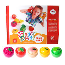 joan miro finger paint fruit set