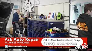 ask auto repair promotion on vimeo ask auto repair promotion