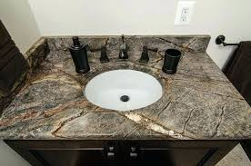 granite bathroom vanity brown tops countertops home depot canada g