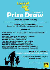 Prize Draw Tickets Gnmt Prize Draw East Riding Theatre Ert