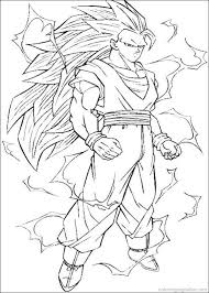 Dragon Ball Super Coloring Pages Z Saiyan Free Page Printable