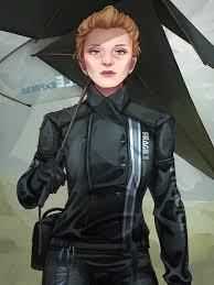 stranding fragile express women costume black leather jacket