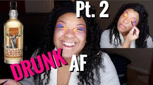 drunk embarring makeup tutorial so funny black out drunk pt 2