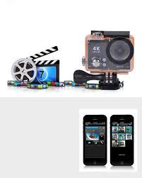 Uhd 2 Lcd 12mp 1080p 60fps Wi Fi Waterproof Action Camera Black