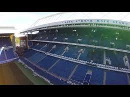 Drones Eye View Of Ibrox Youtube