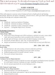 Resume Skills For Bank Teller Magnificent Teller Manager Resume Spacesheepco