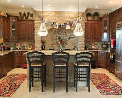 Example Of A Classic Kitchen Design In Columbus With Raised Panel Cabinets,  Granite Countertops