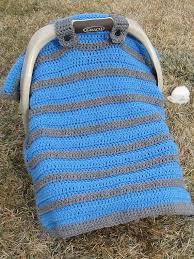 crochet pattern simply sweet car seat canopy blanket