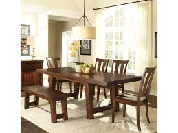 Liberty Furniture Tahoe  Piece Dining Table And Slat Back Chair - Dining room chair sets 6