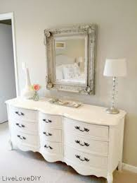 A Modern French Provincial Mesmerizing Bedroom Dresser Decorating Ideas