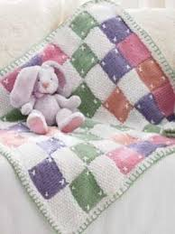 Quilt Inspired Knit Blanket | AllFreeKnitting.com & Capture the feeling of a charming summer cottage with the Quilt Inspired Knit  Blanket. This darling knit blanket pattern juxtaposes different textures  and ... Adamdwight.com