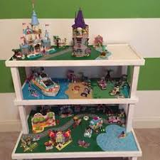 custom lego friends table also with e for lego disney princess sets decoration salle de jeux