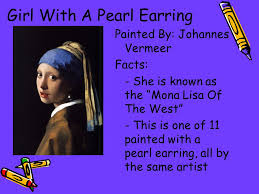 girl a pearl earring essay