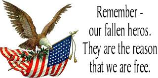 Image result for clip art memorial day