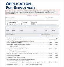 free application templates employment application template 21 examples in pdf word free free